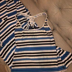 Nautica swimsuit coverup & Tankini top